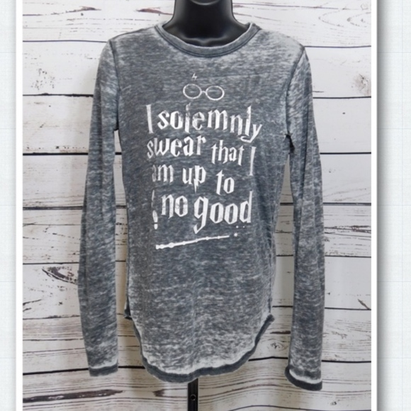1cf2a859f Harry Potter Tops | Girls Solemnly Swear Graphic Tshirt | Poshmark